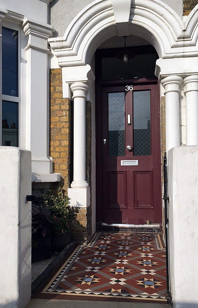 Low maintenance  Edwardian mosaic multi colour London Clapham Balham Streatham