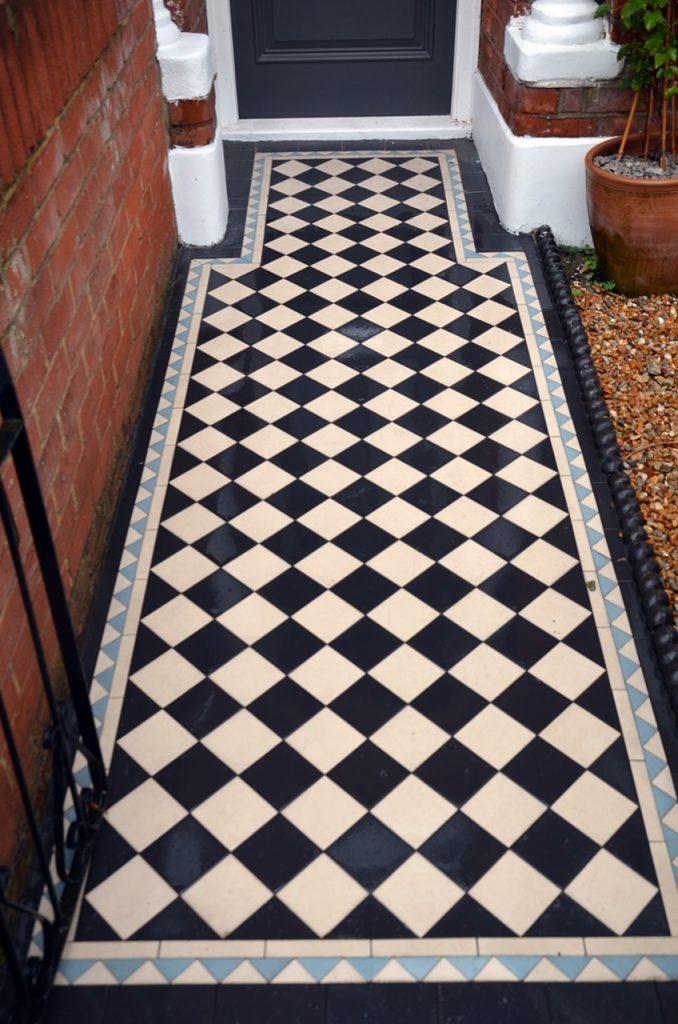 multi-colour-front-garden-victorian-mosaic-london-fulham-clapham-balham