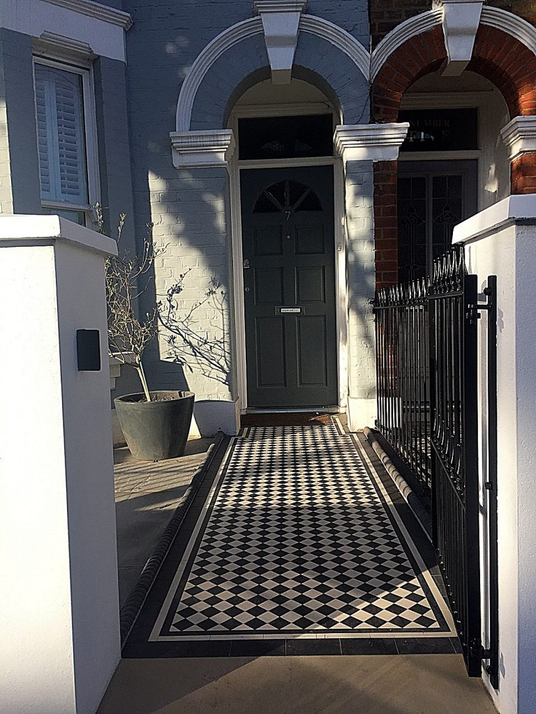 low-maintenance-path-tile-victorian-mosaic-chelsea-fulham-wandsworth-mayfair