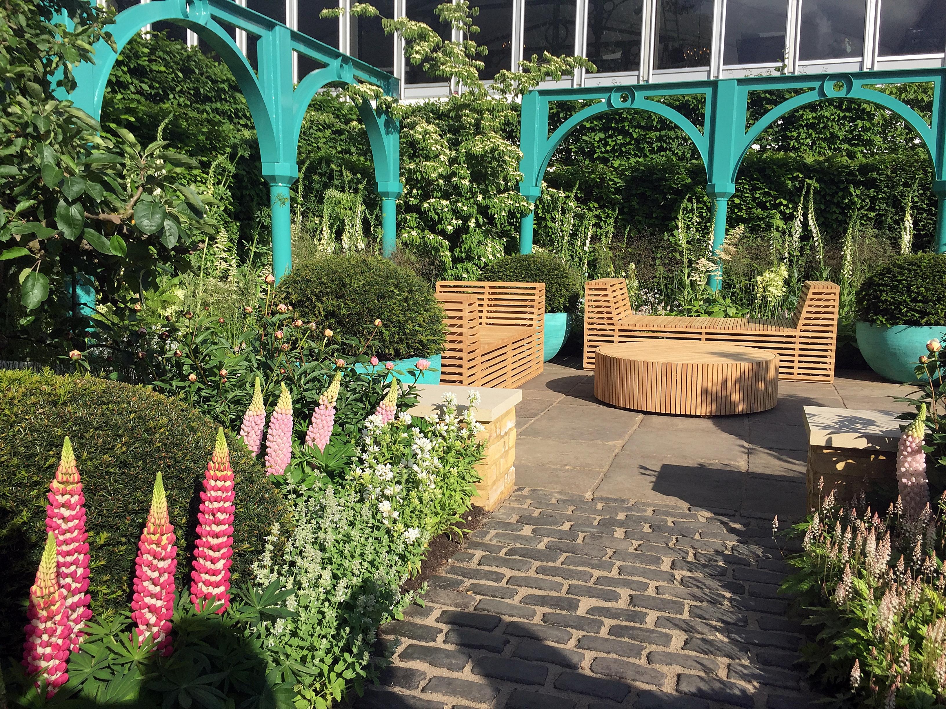 Privacy london garden design for Garden design london