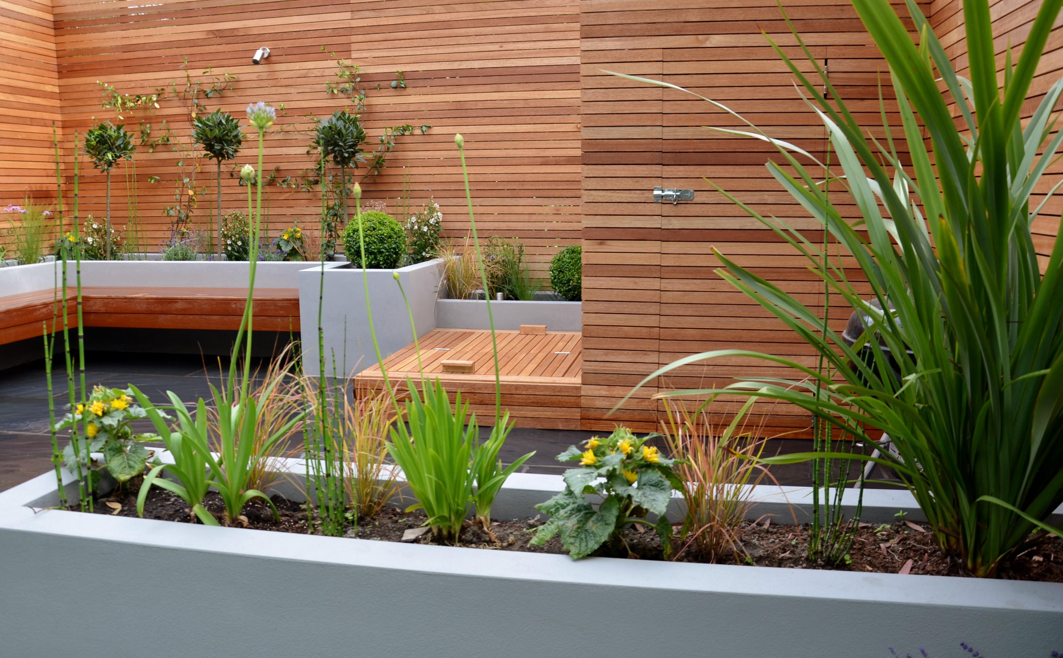 modern garden design - Garden Design London