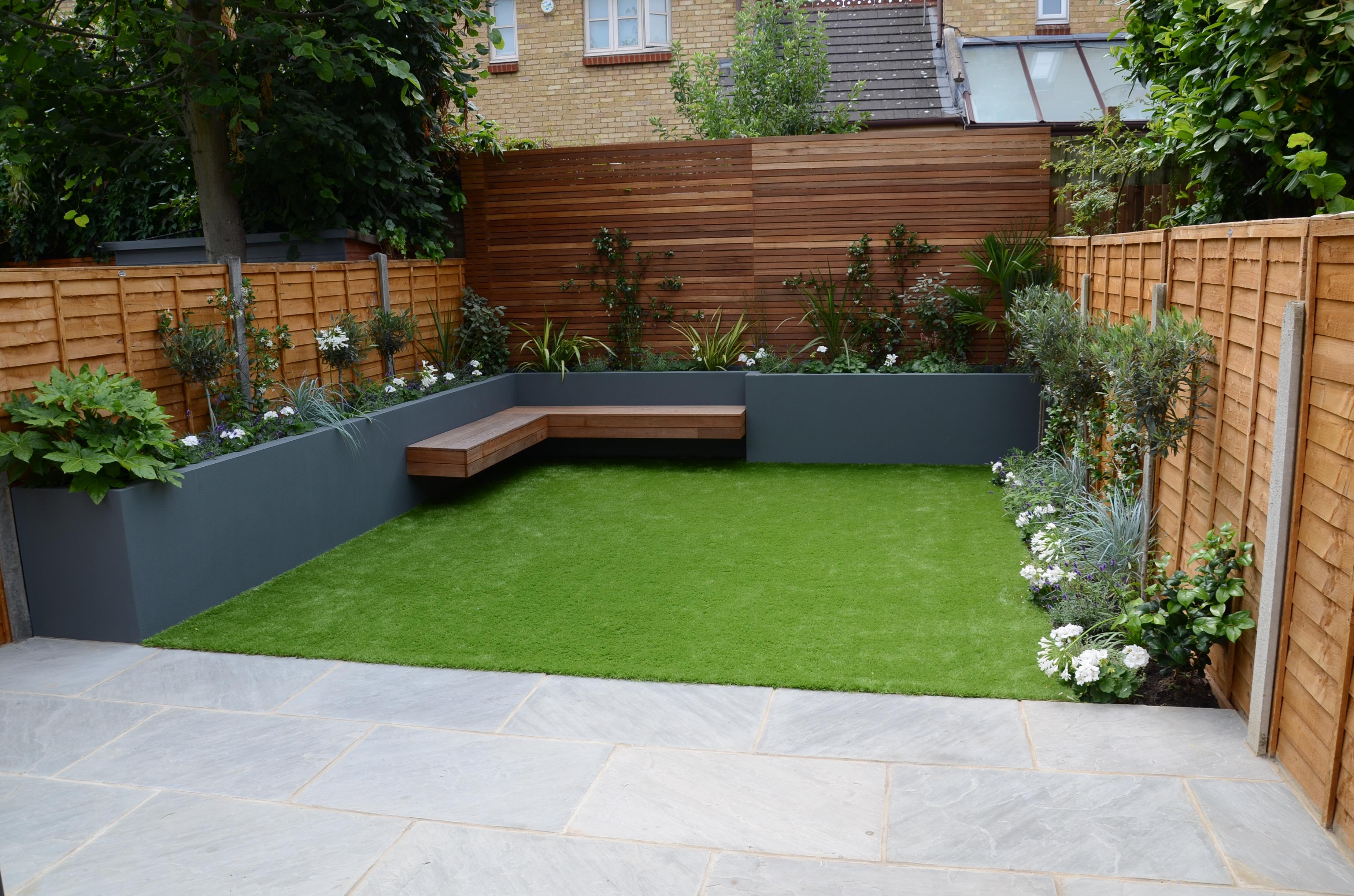 Garden Design chelsea screen raised beds wonderful ...