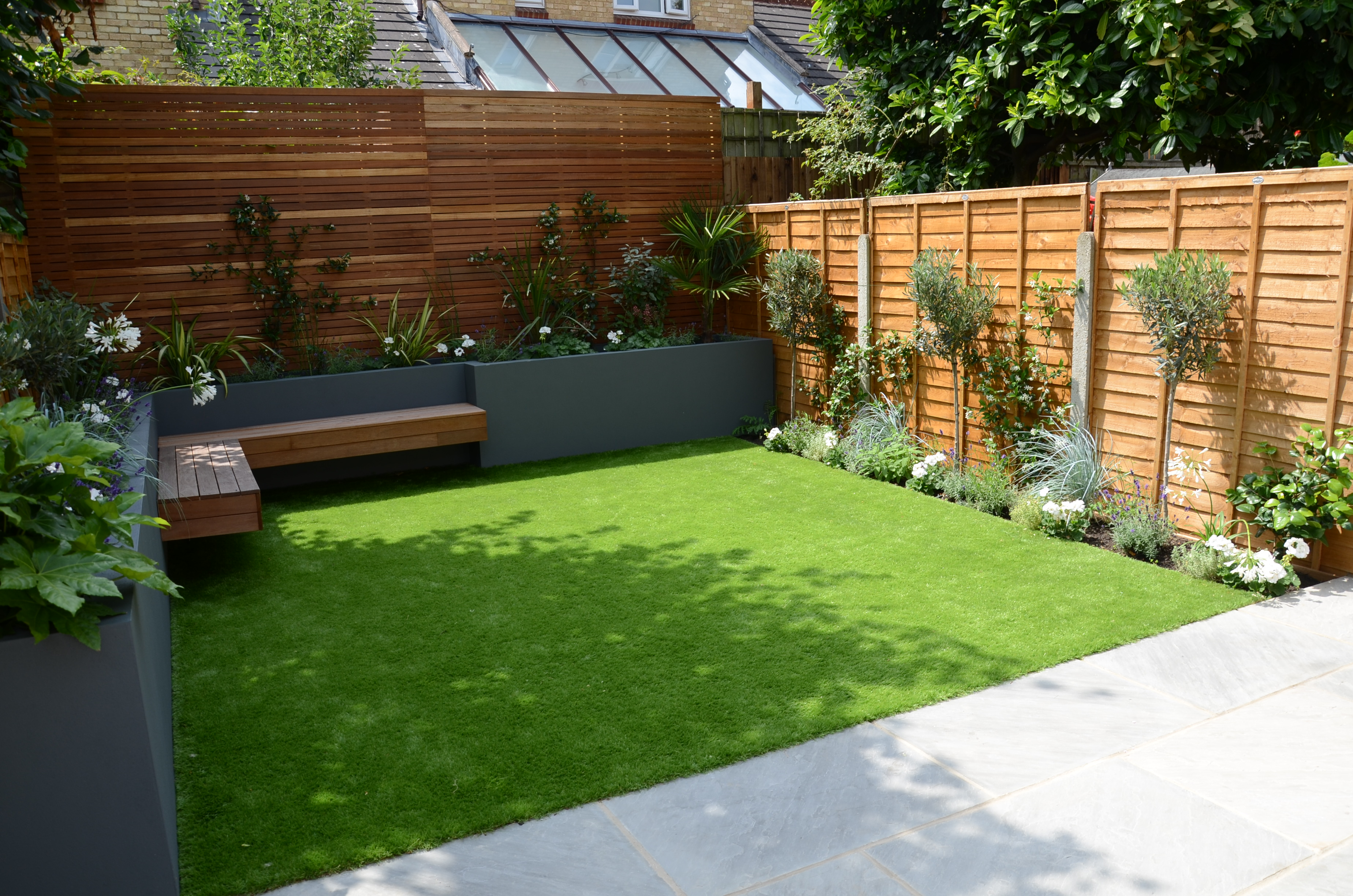 Garden Design chelsea screen raised beds wonderful ...