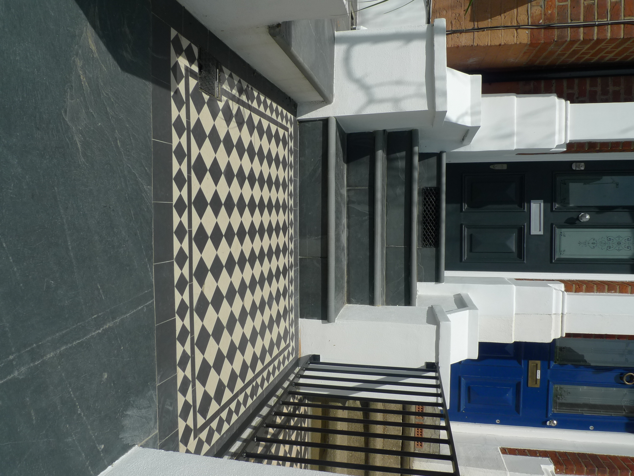 Slate Steps And Victorian Mosaic London Clapham Richmond Wimbledon Kingston Bromley Croydon