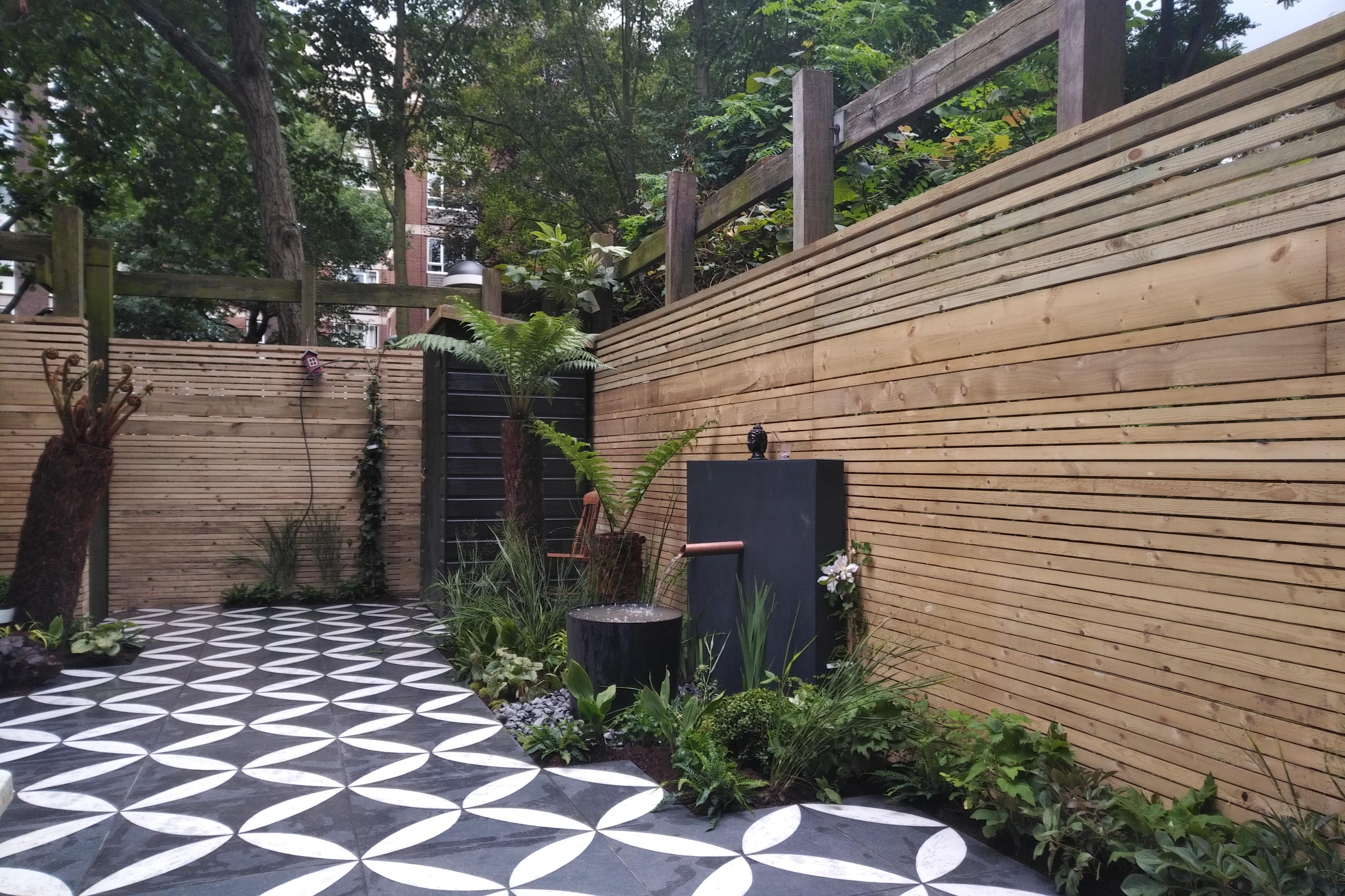 garden designer london cat howard garden builders anewgarden