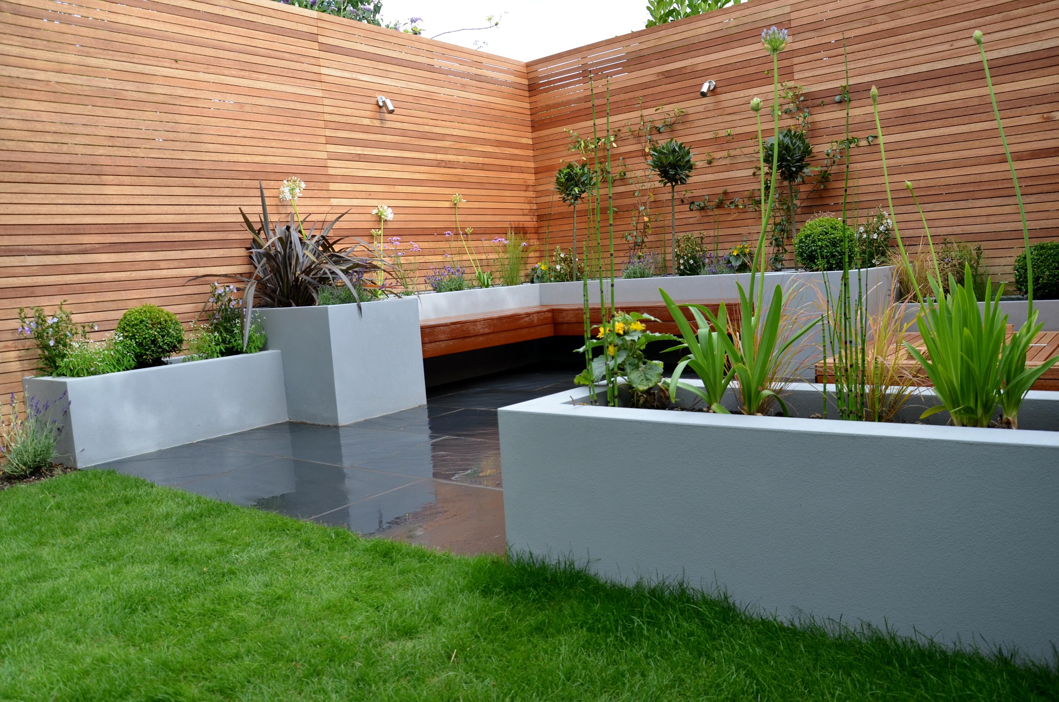 Modern Garden Design London Designer - London Garden Design on Contemporary Backyard id=30101