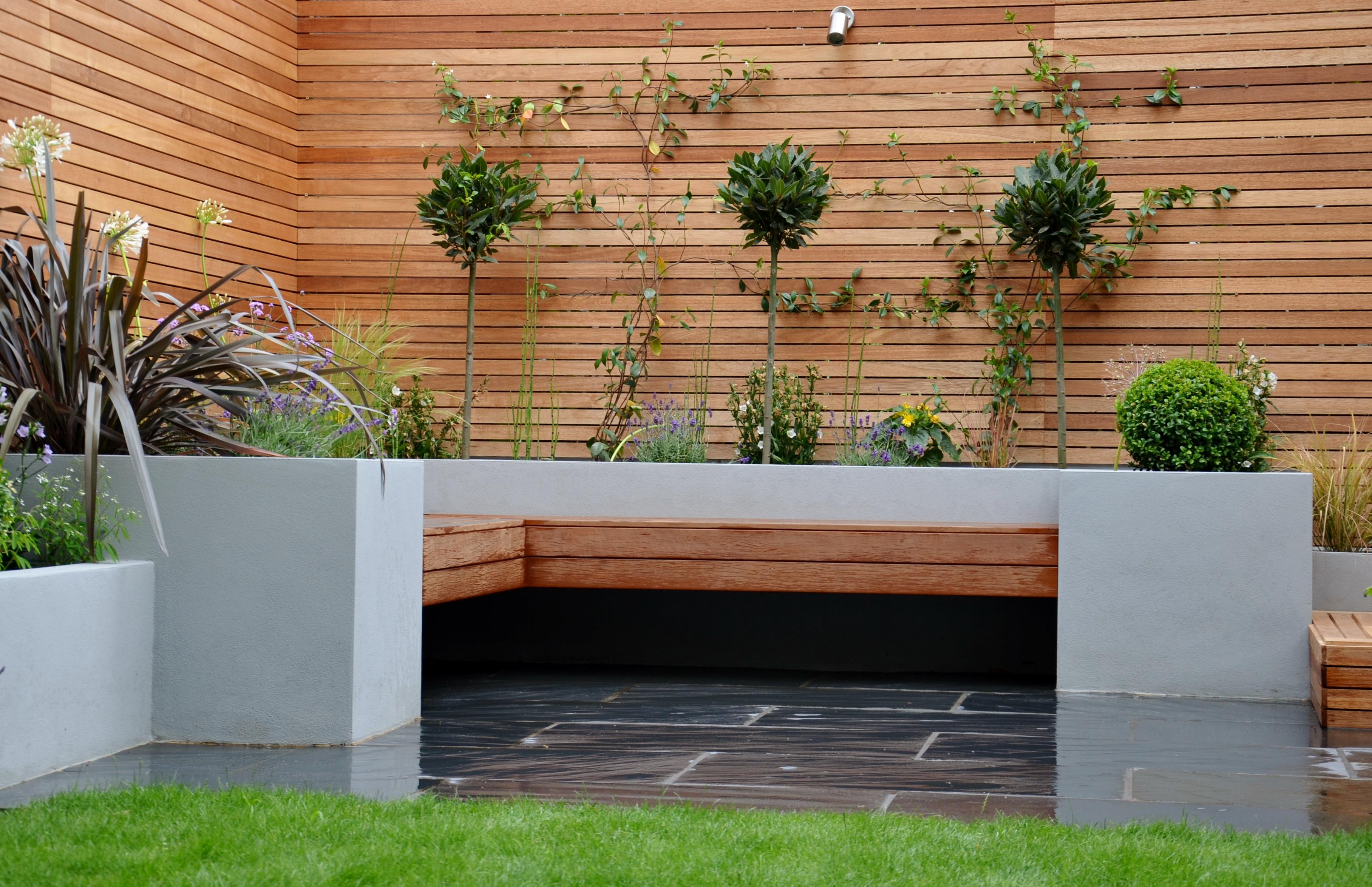 Dorable Bespoke Garden Design Embellishment - Brown Nature Garden ...