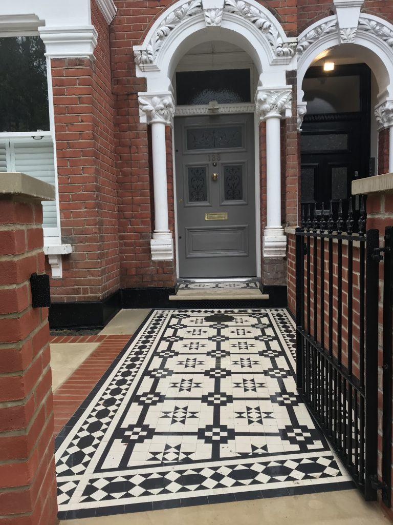 Garden Design Company & Victorian Restoration Mosaic