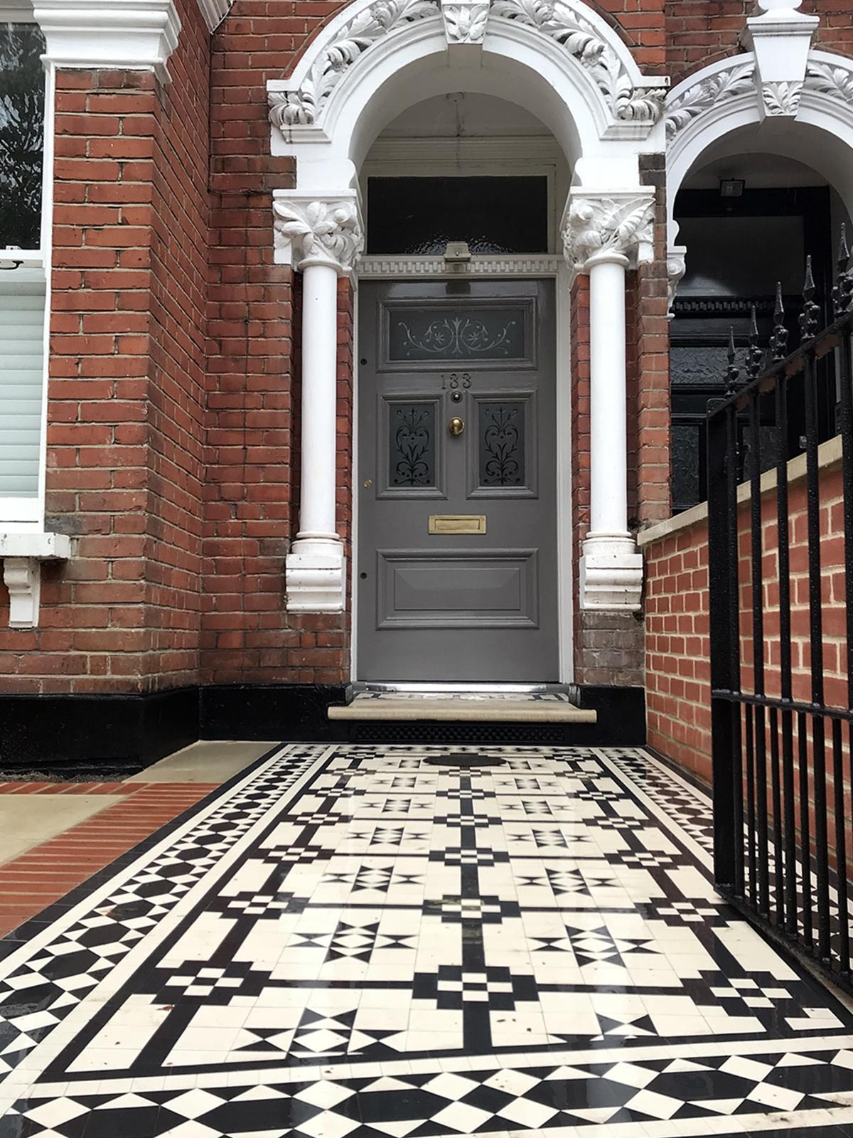 London Front Garden Victorian Restoration Company