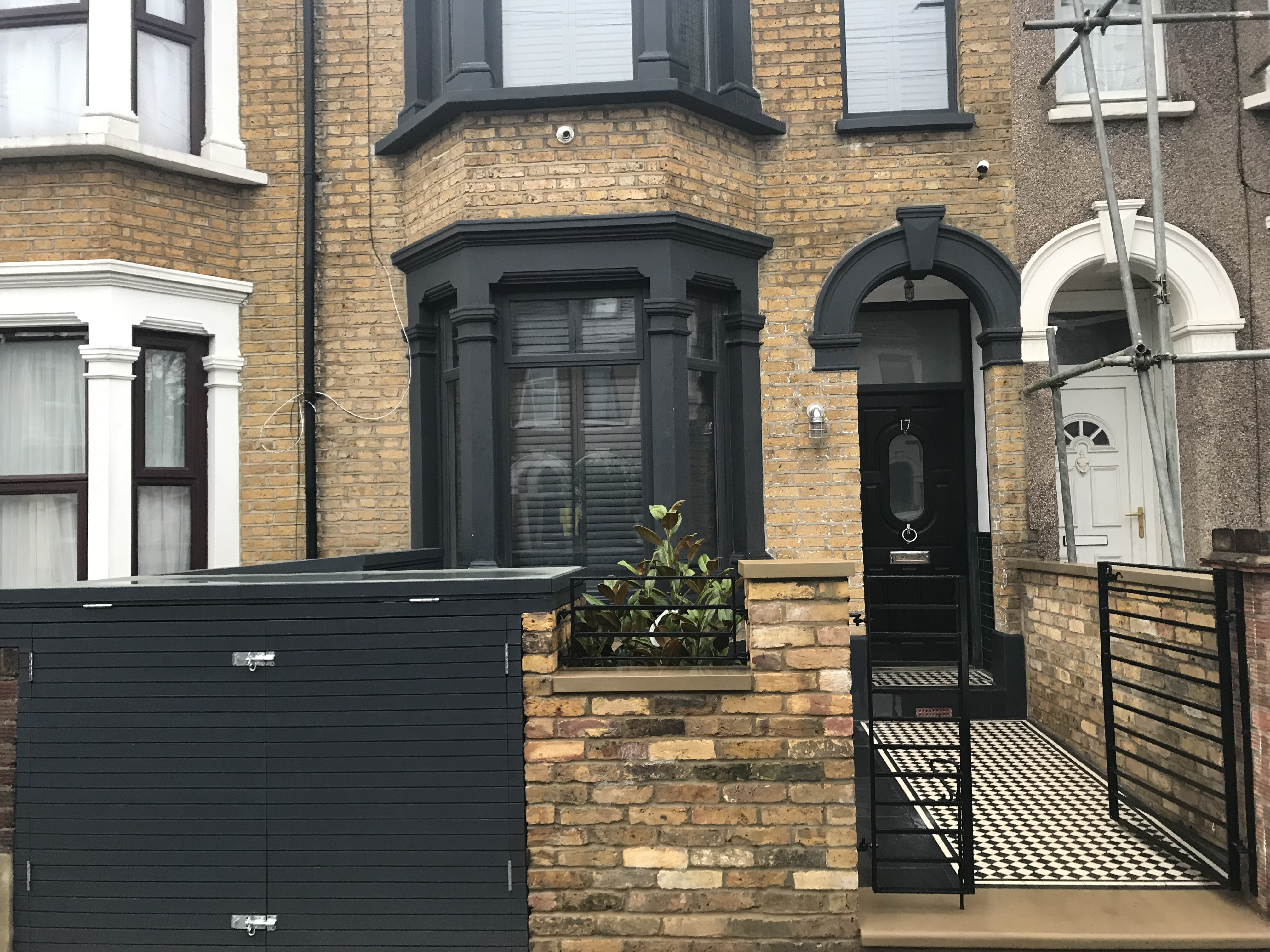 Modern Take On Victorian Front Garden London London
