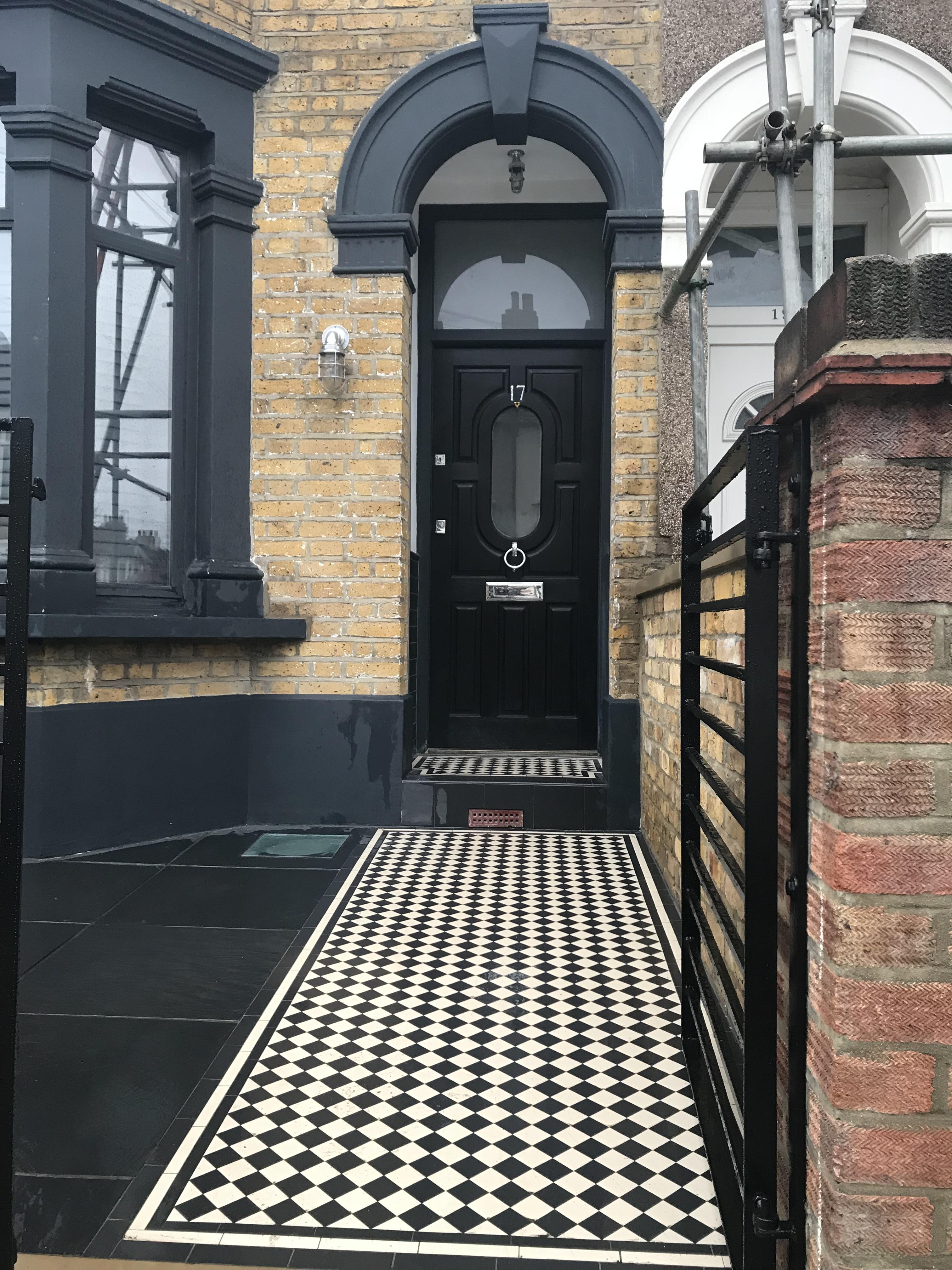 Modern Take On Victorian Front Garden London London