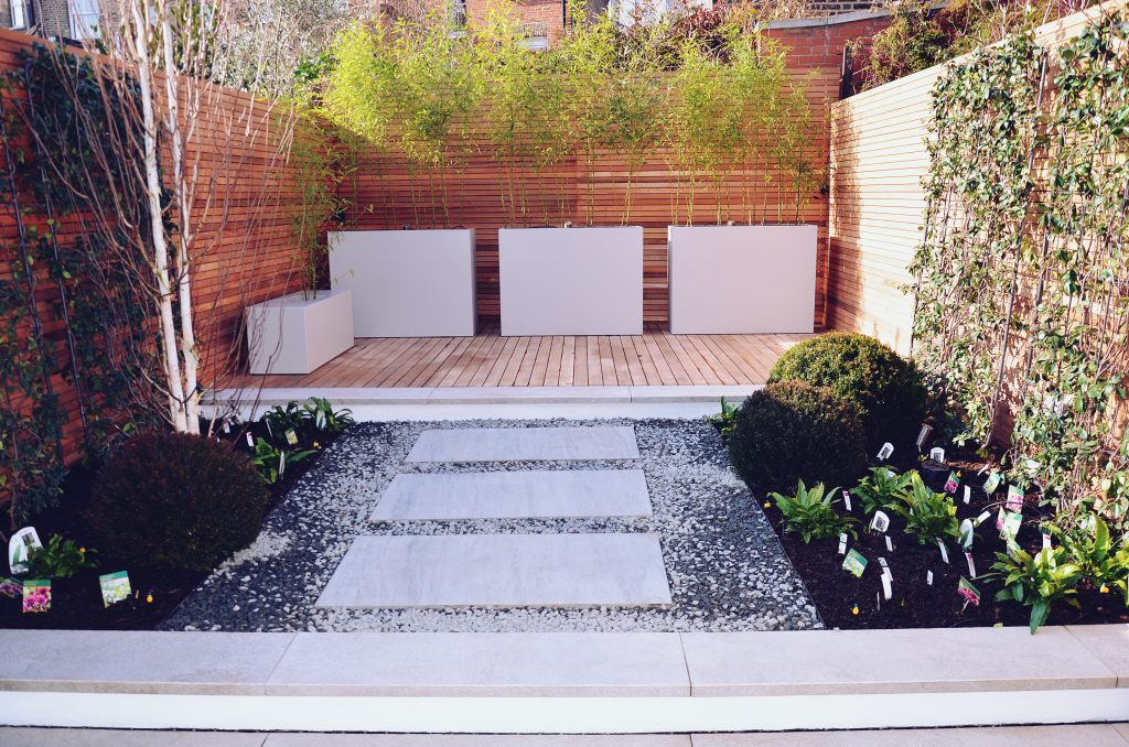 Modern small garden design London Clerkenwell Little ...