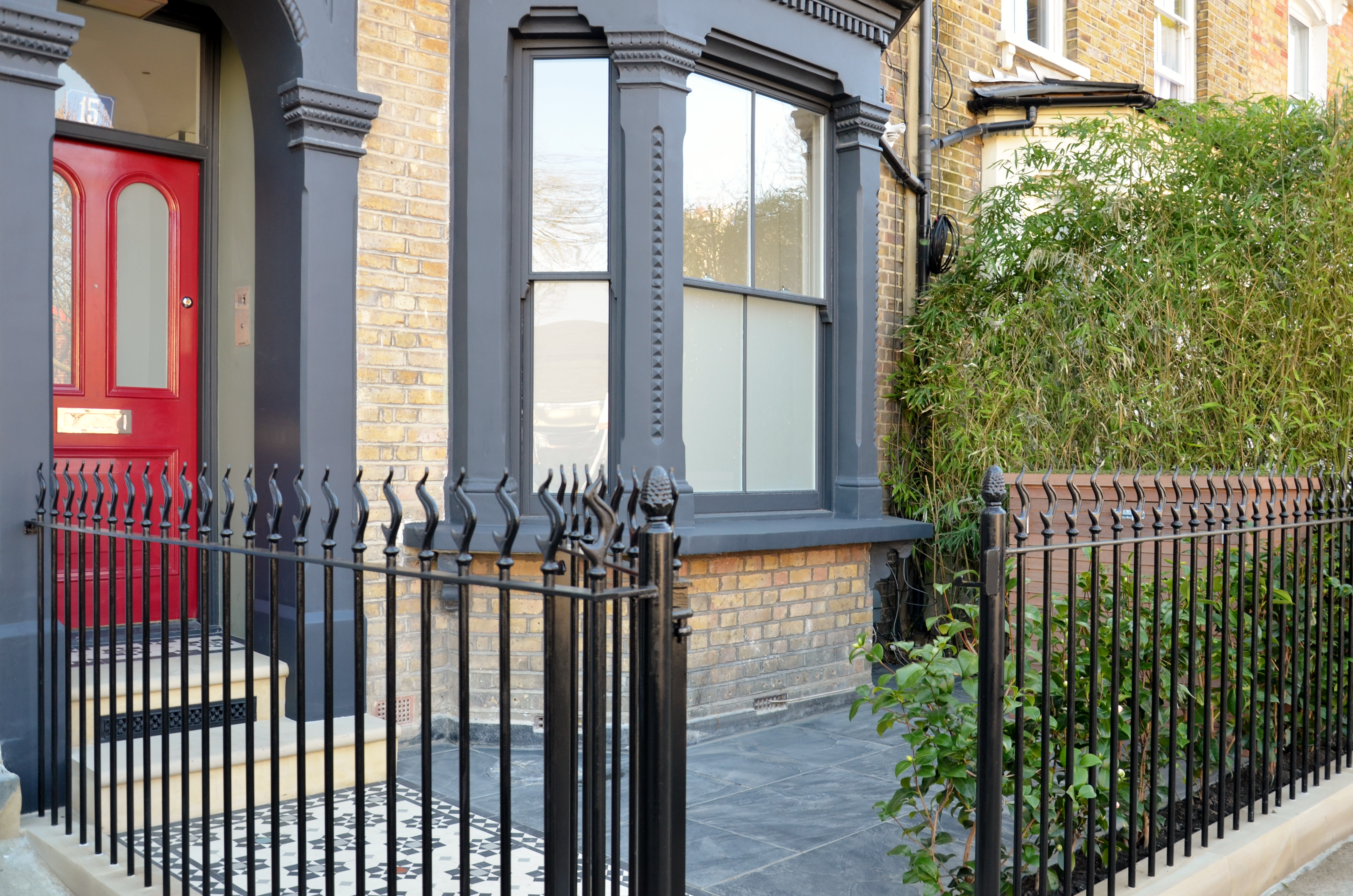 London Victorian and Edwardian front garden restoration ...