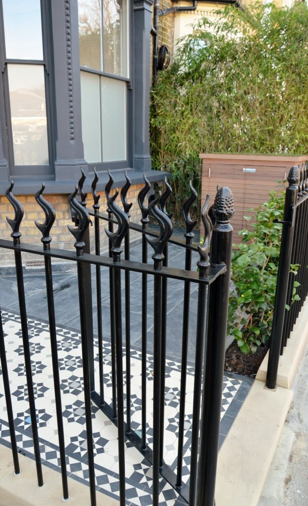 London Victorian And Edwardian Front Garden Restoration